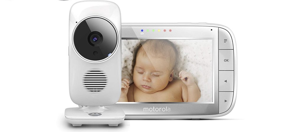 Motorola Baby Monitor Bundle MBP 8