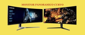 ⎆ [ Monitor panoramici curvi ] per YouTube e Game ✅